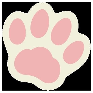 肉球ピンク